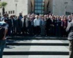 Bursa Demokrasi Güçleri gözaltıları protesto etti