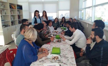 AKD Konyaaltı Şubesin de Düzenlenen Kadın ve Gençlik Toplantısı