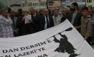 İştebrak Alevi Katliamı protesto edildi