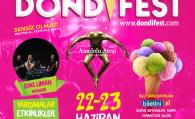 DondiFest'e gelin , hep birlikte gülerek, eğlenerek bir köy kuralım!